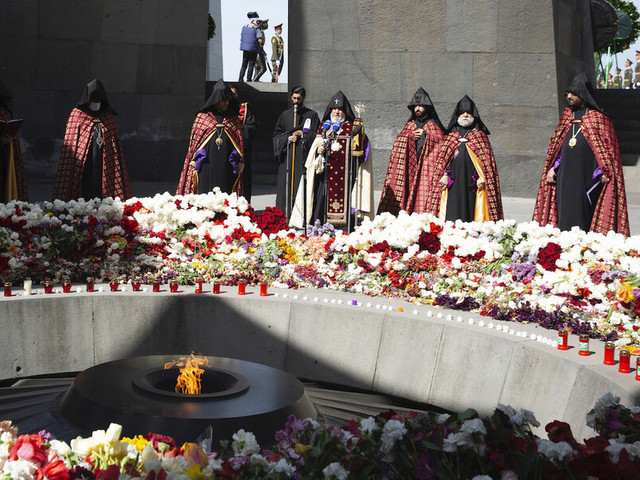 Fulfilling promise, Biden recognizes massacre of Armenians as genocide