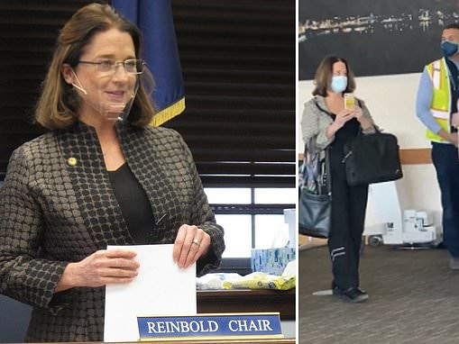 Alaska lawmaker asks to be excused from sessions because she is banned from airline over mask rules