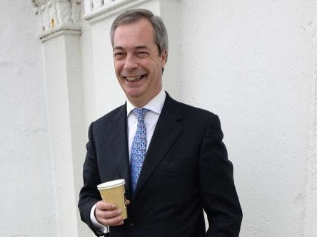Nigel Farage 'in talks for Celebrity Hunted'