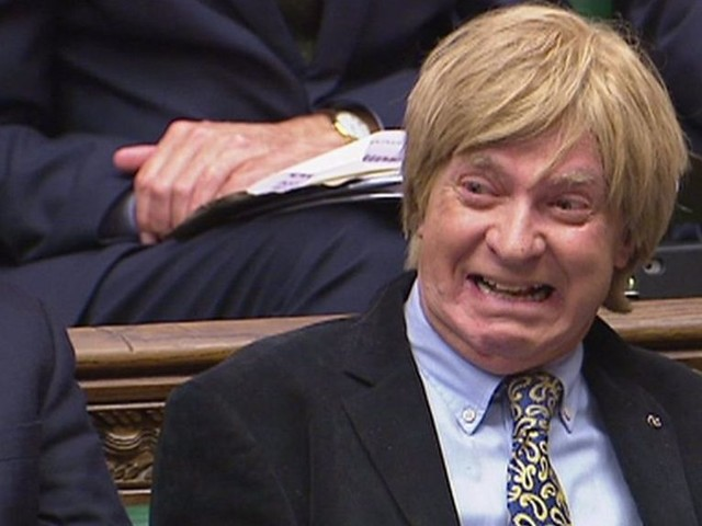 PMQs: May on and Fabricant Celebrity First Dates appearance