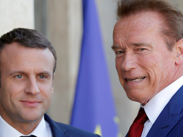 Schwarzenegger And Macron Troll Trump Over Climate Change