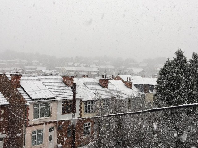 Met Office issue yellow warning for snow in Nottingham and Nottinghamshire