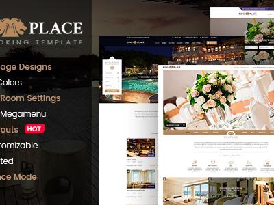 KingPlace - Luxury Hotel, Resort & Spa Booking WordPress Theme (Travel)