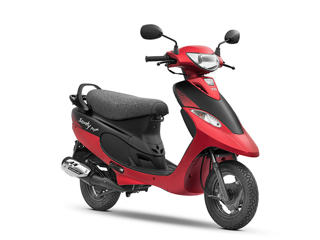 TVS Scooty Pep Plus Matte Edition launched at Rs 44,764