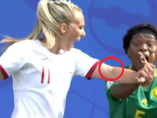 WATCH: Cameroon Player Spits on Toni Duggan During FIFA Women's World Cup Match
