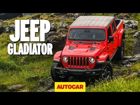 Jeep Gladiator 2020 video review: How good off-road is the new Jeep pickup?