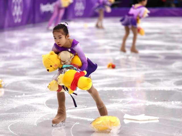 Best Jobs at the Olympics: Figure Skating Stuffed Animal Wrangler