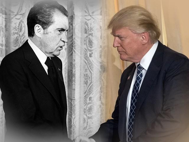 Trump Isn't Nixon