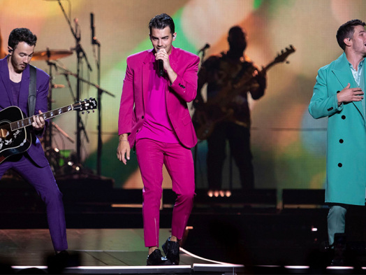 Jonas Brothers Shine a Light on New Jersey for VMAs Performance From Asbury Park