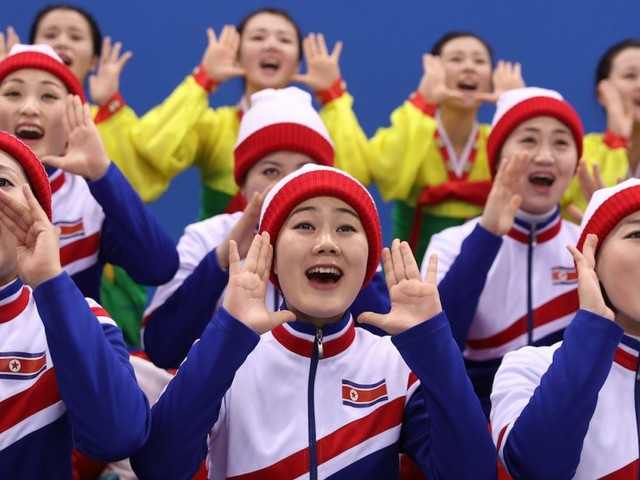 A former North Korean cheerleader describes the 'psychological training' she underwent to get 'into the heart of the enemy'