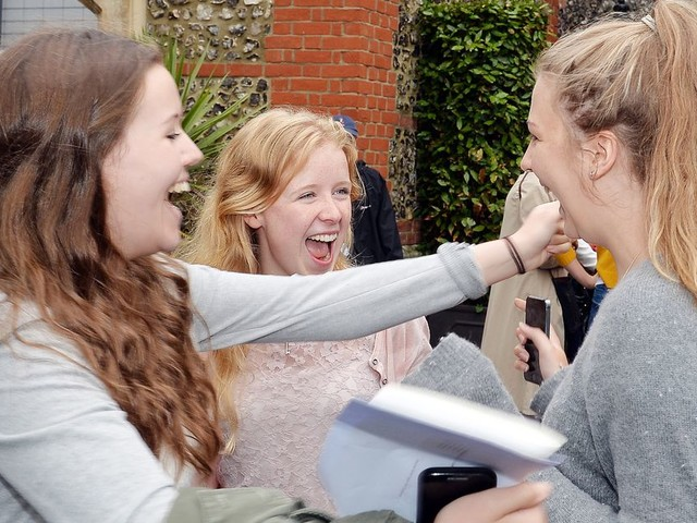 What time can you pick up your A level results?