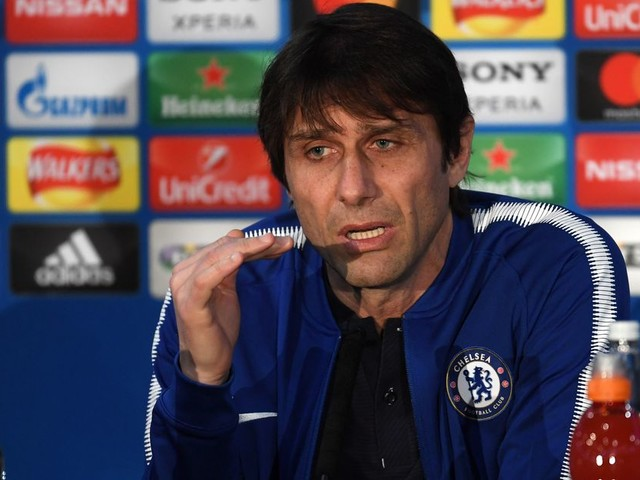 Conte: 'The pressure must be your friend, not your enemy'