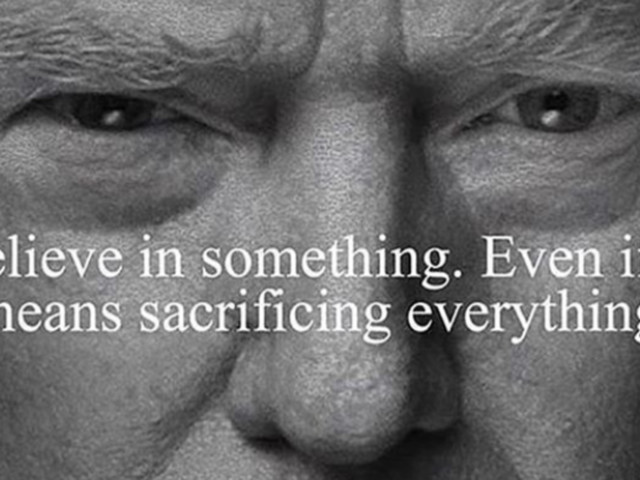 Colin Kaepernick Nike Advert 'Fixed' By Donald Trump Jr - To Feature His Father