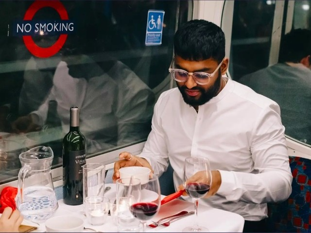 The Tube Carriage Serving Up A Six-Course Tasting Menu