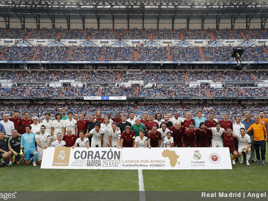 Corazon Classic: Roberto Carlos Wears Body Camera During Real Madrid Legends Game, Captures Some Great First-Person Footage (Video)