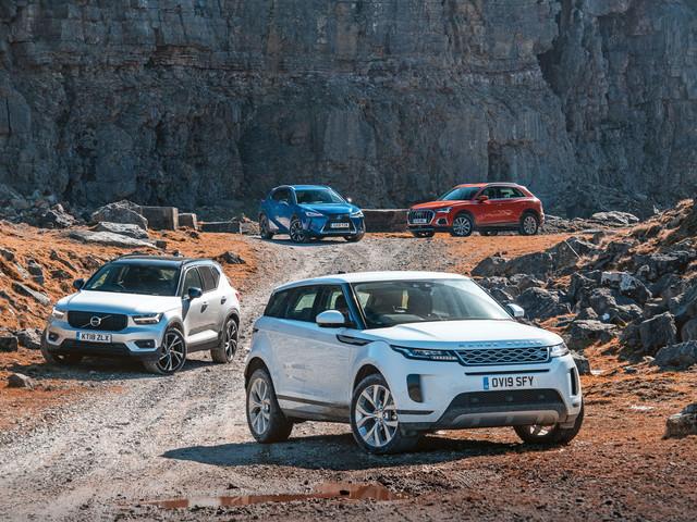 SUV showdown: Range Rover Evoque vs major rivals
