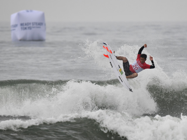 ISA express satisfaction with waves at Tokyo 2020 surfing test event