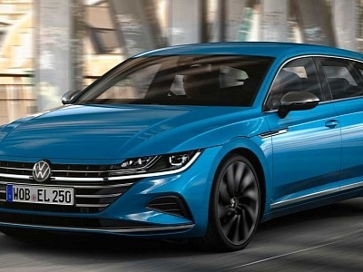 2021 Volkswagen Arteon Gets 1.5 Turbo and 197 HP 2.0 TDI in the UK