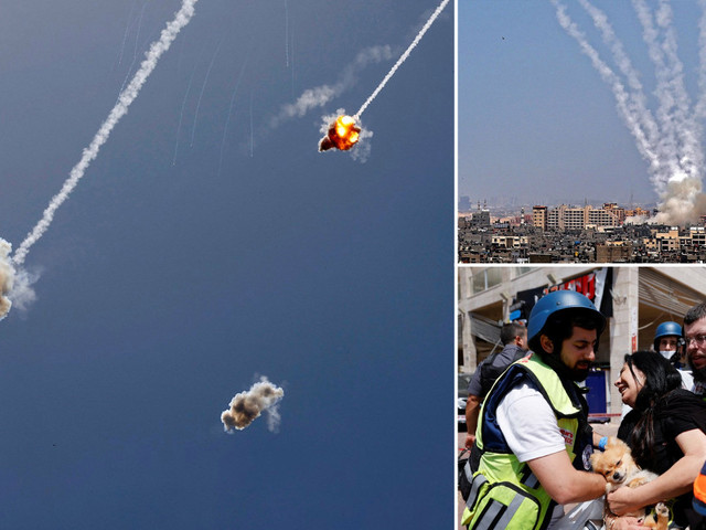Two women killed in rocket attacks on Israel as tensions with Hamas escalate