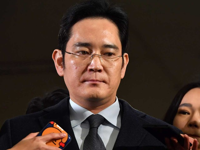 Samsung heir's jailing proves South Korean bosses aren't 'too big to jail'
