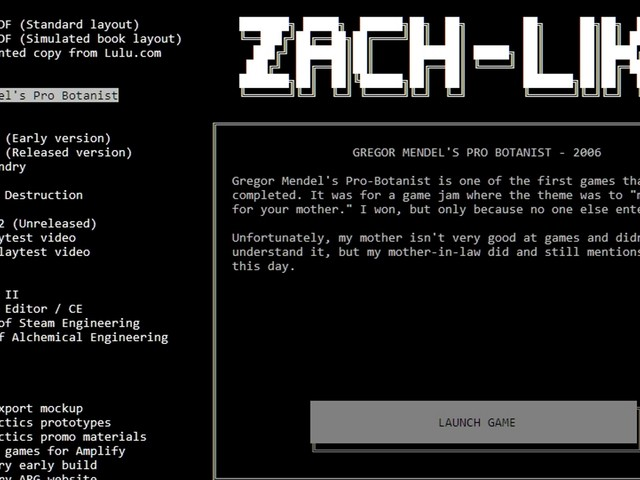 Zach-Like comes to Steam free with loads of game-like extras