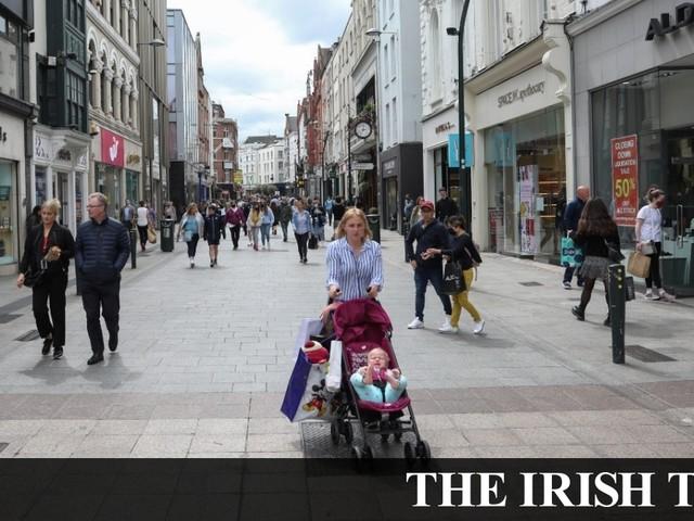 Grafton Street: 'It's like a ghost town'