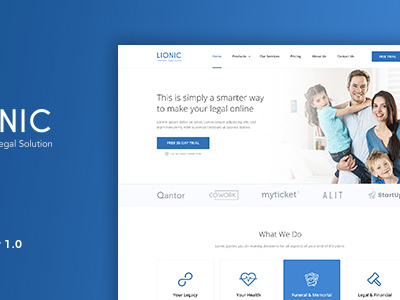 Lionic - Online Finance & Legal (Corporate)