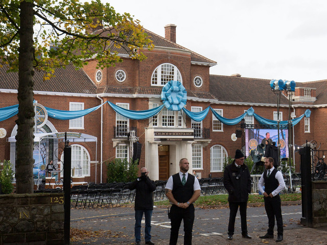 Church Of Scientology Opens Birmingham HQ With Lavish, Guarded, Ceremony