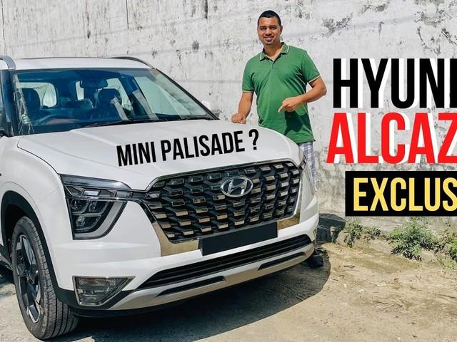 Exclusive: Hyundai Alcazar Walkaround Video Ahead Of Launch