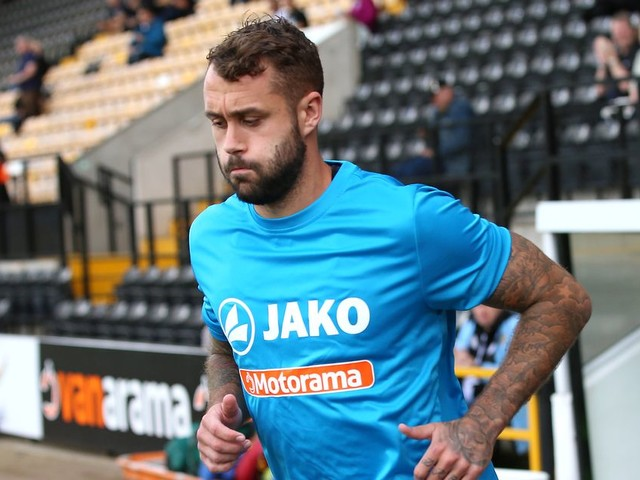 Notts County defender Connell Rawlinson hopes teams are beaten 'before the whistle's blown' at Meadow Lane
