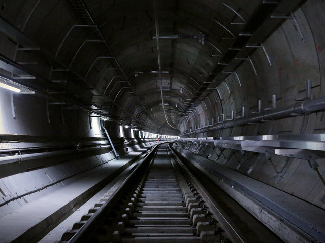 Fly through the Crossrail tunnels tonight