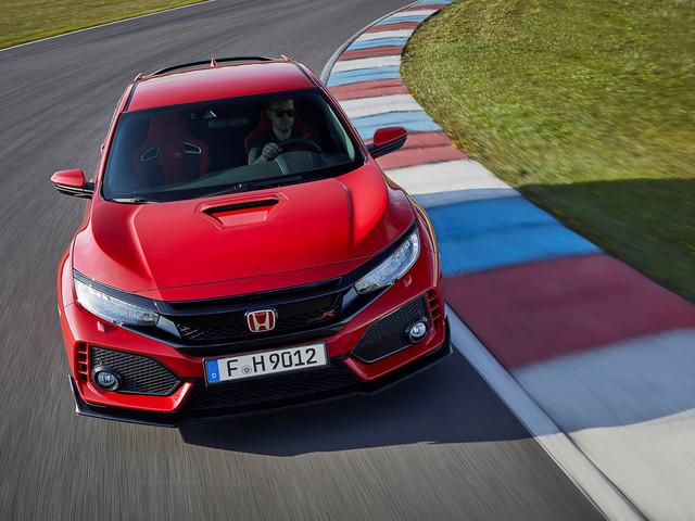 New Honda Civic Type R: hot hatch prototype drive