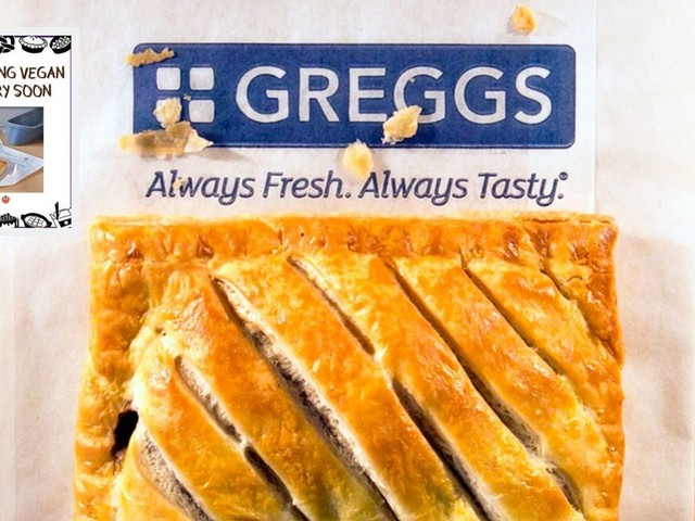 Greggs responds to claim that vegan steak bakes will be out by Christmas