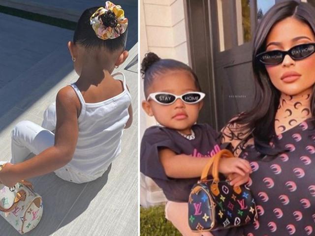 Kylie Jenner slammed for buying daughter Stormi, 2, a $1,180 Louis Vuitton mini handbag