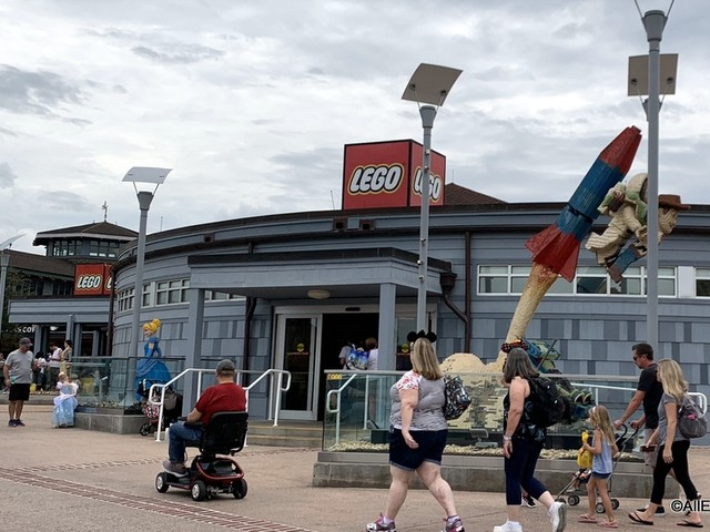 NEWS: The LEGO Store at Disney Springs Will Be Reopening May 27th