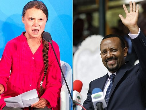 Greta Thunberg misses out on Nobel Peace Prize as the award is given to Ethiopia's prime minister