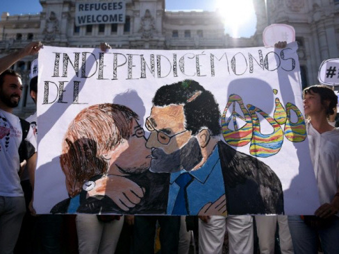 Barcelona braced for pro-unity rally