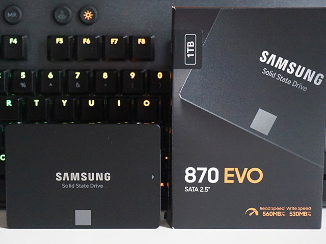 Samsung's 2TB 870 Evo SSD is down to £197.50 at Amazon