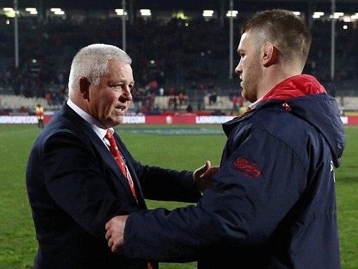 Warren Gatland slams Sean O'Brien over coaching criticism