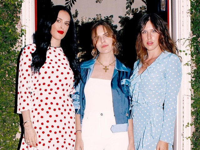 Rumer, Tallulah and Scout Willis Enjoy a Sisters' Night Out in L.A.
