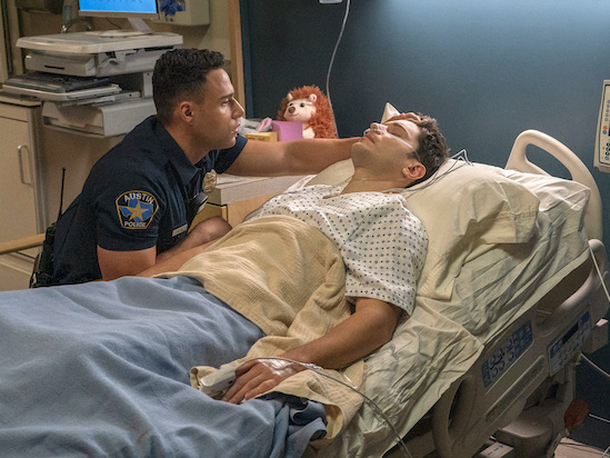 Ronen Rubinstein on '9-1-1: Lone Star' Finale's Big Reveal About T.K.'s Future With The 126 – and Carlos