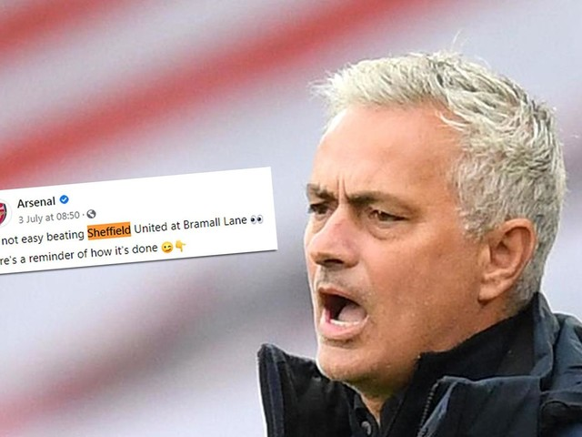 Jose Mourinho stokes Tottenham vs Arsenal rivalry: 'You only enjoy problems of others when you're in trouble'