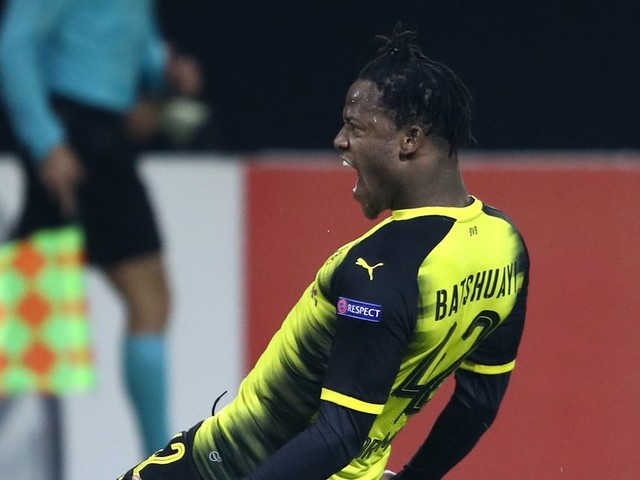 Michy Batshuayi can't stop scoring, wins another game for Borussia Dortmund