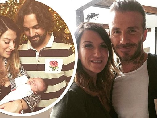 David Beckham's sisterJoanne 'SPLITS' from her Big Brother star beau Kris Donnelly