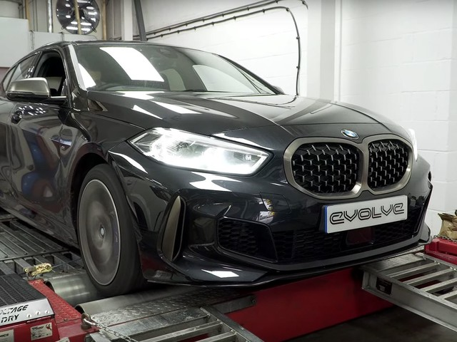 Video: BMW M135i xDrive gets tested on the dyno