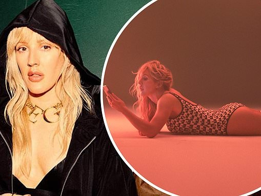 Ellie Goulding looks incredible in a Fendi leotard for her new sultry Hate Me music video