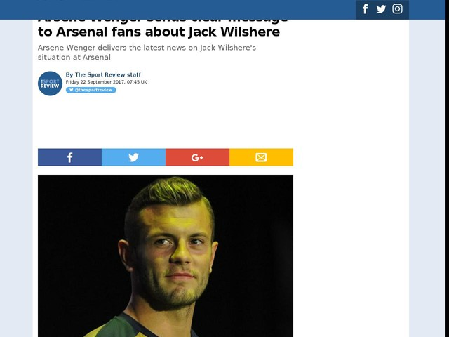Arsene Wenger sends clear message to Arsenal fans about Jack Wilshere