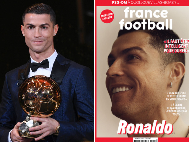 Cristiano Ronaldo beats Messi and Van Dijk to win record-breaking SIXTH Ballon d'Or, according to reports in Italy
