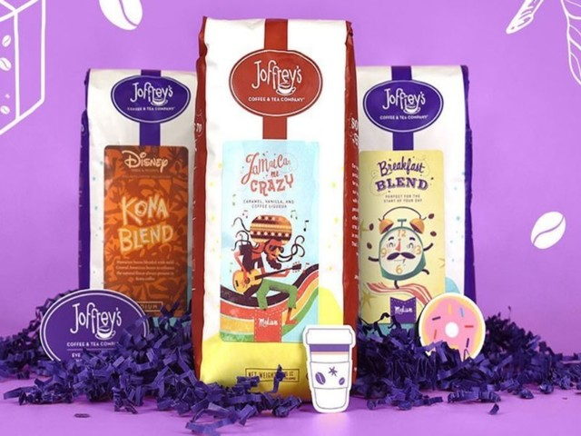 Disney Coffee Subscriptions - Joffrey's Coffee & Tea Company's Blends are Inspired by Disney Parks (TrendHunter.com)