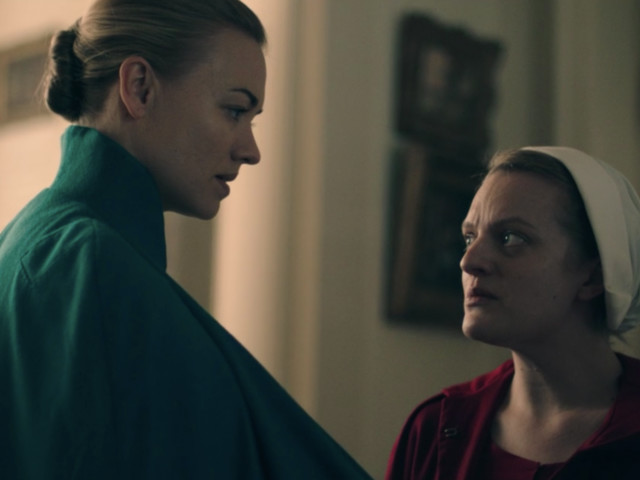 How a star in 'The Handmaid's Tale' got her part because of a horrible play